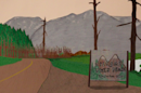 The Twin Peaks title sequence recreated with paper will make you feel nice