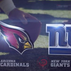 Week 2: Arizona Cardinals vs. New York Giants highlights