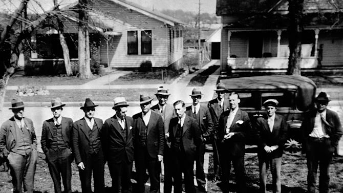 FILE - This April 2, 1933 file photo shows the twelve Morgan Country Alabama men, chosen to weigh the evidence in the trial of Heywood Patterson, 19-year-old and first of seven to face retrial in the Scottsboro attack case, in Decatur, Ala. The Scottsboro Boys' appeals resulted in U.S. Supreme Court decisions that criminal defendants are entitled to effective counsel and that blacks can't be systematically excluded from criminal juries. (AP Photo)