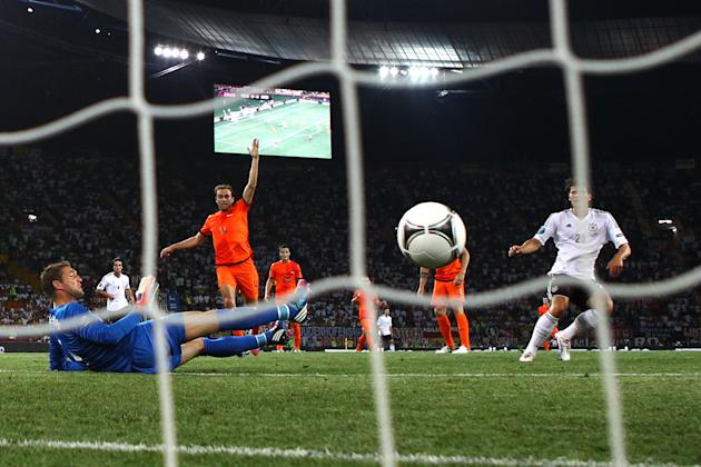 Netherlands v Germany - Group B: UEFA EURO 2012