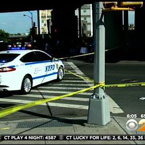Police Search For Driver In Bronx Hit-And-Run That Left Woman Critically Hurt
