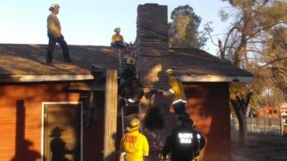 Burglar Dies in Chimney During Rescue After Homeowners Light a Fire: Cops