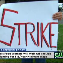 Fast Food Workers To Walk Off The Job