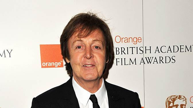 Paul Mc Cartney Orange Brtsh Academy