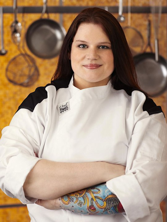 "Nona Sivley (Atlanta, GA) is a contestant on the Red Team on Season 8 of ""Hell's Kitchen."""