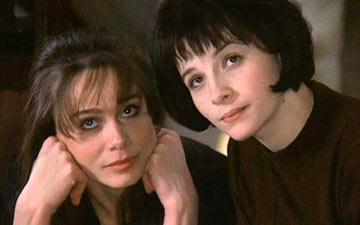 Lena Olin and Juliette Binoche in The Unbearable Lightness of Being