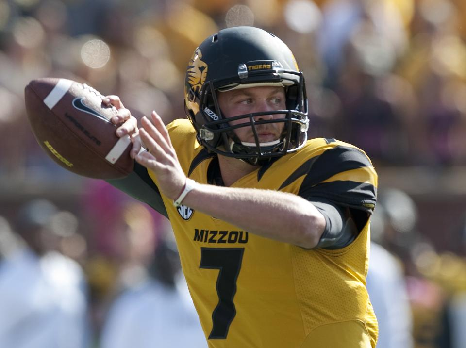 Backup QBs in spotlight for Missouri, S Carolina