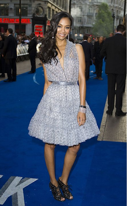 Star Trek UK Premiere 2009 Zoe Saldana