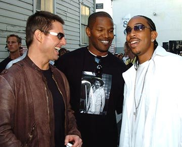Tom Cruise, Jamie Foxx and Ludacris