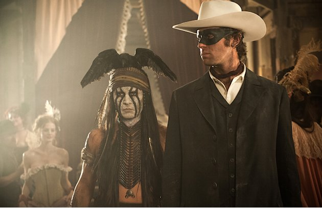 The Lone Ranger Movie Still