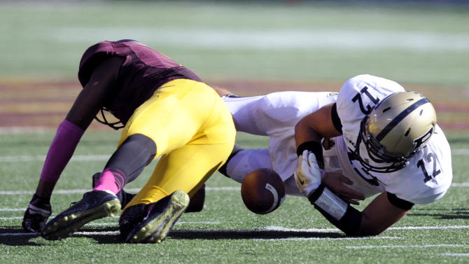 First-place Gophers trying to stay grounded