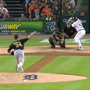 Cespedes' RBI groundout