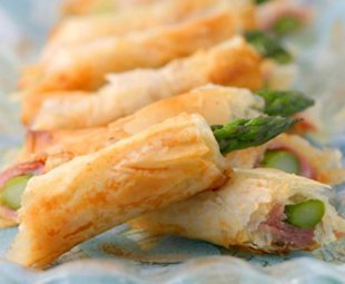 Phyllo-Wrapped Asparagus Spears