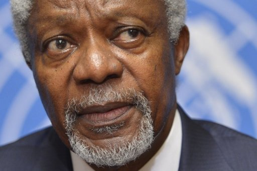 Der internationale Sondergesandte Kofi Annan hat das Scheitern seiner bisherigen Bemhungen um ein Ende der Gewalt in Syrien eingestanden