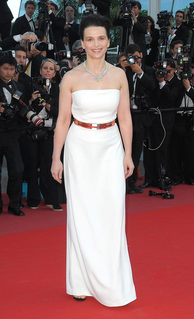 63rd Annual Cannes Film Festival 2010 Closing Ceremony Juliette Binoche