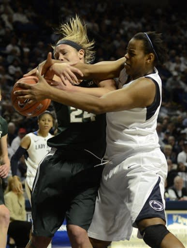 Bentley leads Penn State past Michigan State