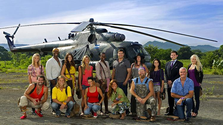 "The cast of ""Survivor: Redemption Island ."""