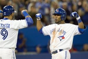 Blue Jays hit 4 homers, rout Yankees 8-1