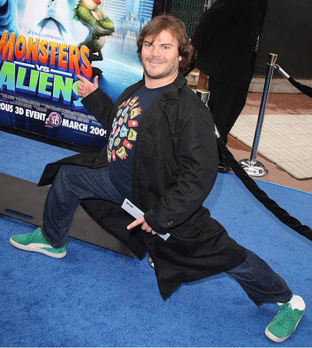Monsters vs Aliens LA Premiere 2009 Jack Black