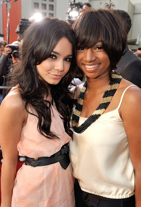 17 Again LA Premiere 2009 Vanessa Hudgens Monique Coleman