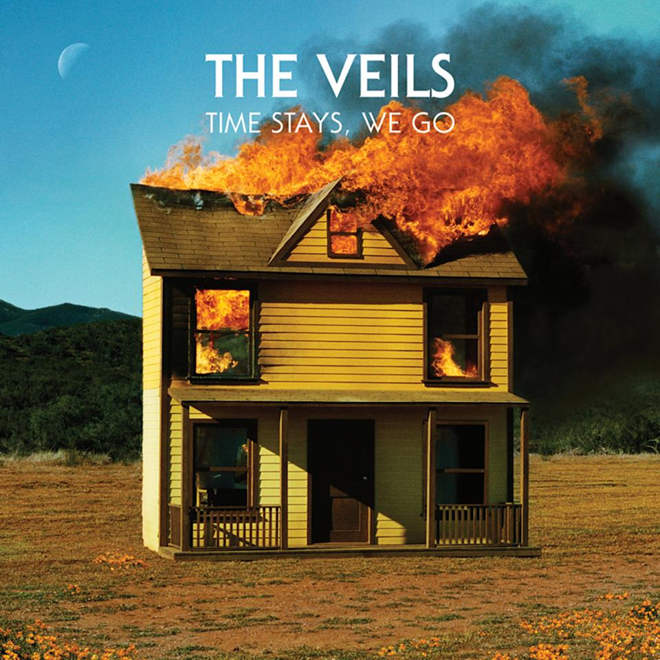 "This CD cover image released by Pitch Beast Records shows ""Time Stays, We Go,"" by The Veils. (AP Photo/Pitch Beast Records)"