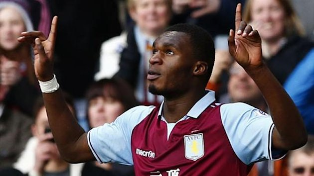 Aston Villa striker Christian Benteke (Reuters)