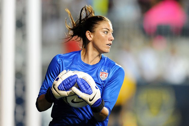 USA goalkeeper Hope Solo (Getty Images)
