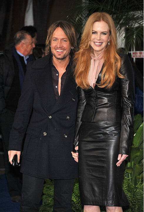 Just Go With It LA Premiere 2011 Keith Urban Nicole Kidman