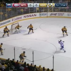 Pekka Rinne Save on Max Pacioretty (08:22/1st)