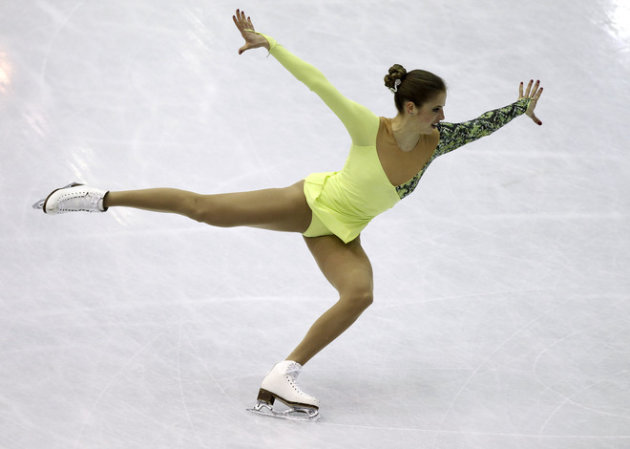 Italy's Carolina Kostner Performs AFP/Getty Images