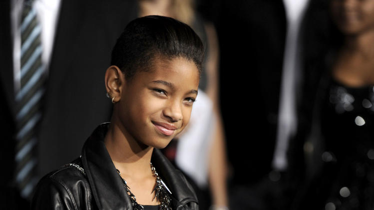 "Willow Smith arrives at the world premiere of ""The Twilight Saga: Breaking Dawn - Part 1"" on Monday, Nov. 14, 2011, in Los Angeles. (AP Photo/Chris Pizzello)"