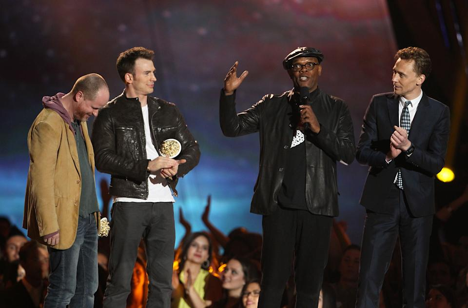 'The Avengers' takes top prize at MTV Movie Awards