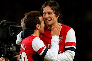 Wenger confident Rosicky will extend Arsenal contract