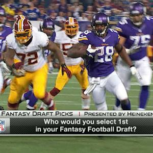 Fantasy Draft Picks: Who would you select first in your draft?