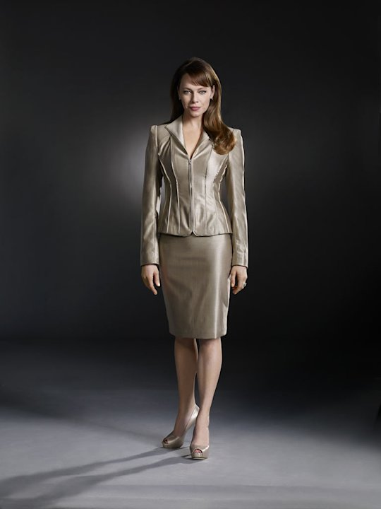 "Melinda Clarke stars as Amanda in ""Nikita."""