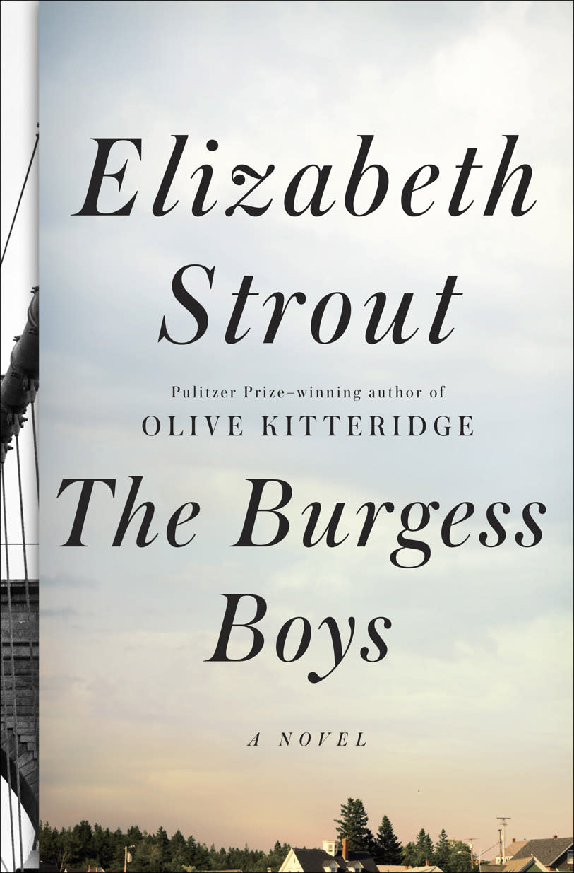 "This book cover image released by Random House shows ""The Burgess Boys,"" by Elizabeth Strout. (AP Photo/Random House)"