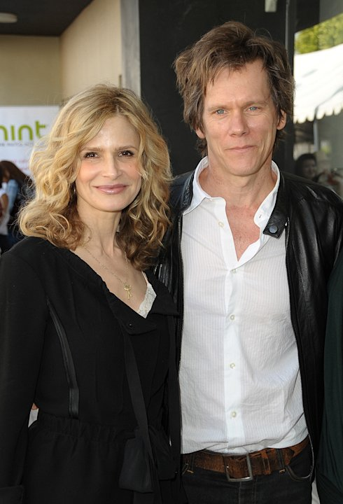 Kevin Bacon and Kyra Sedgewick arrive at The 7th Annual John Varvatos Stuart House Benefit at the John Varvatos Boutique on March 8, 2009