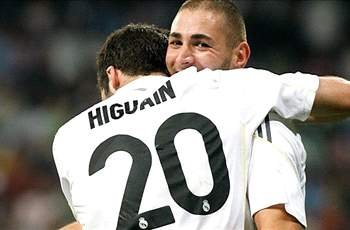 Benzema: I hope that Higuain stays at Real Madrid