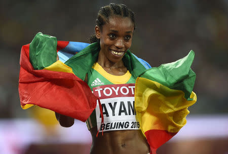 Ayana denies Dibaba with stunning 5,000m gold