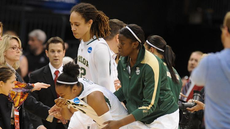 NCAA Womens Basketball: NCAA Tournament-Oklahoma City Regional-Baylor vs Louisville