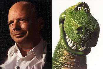 Wallace Shawn as the voice of Rex in Disney's