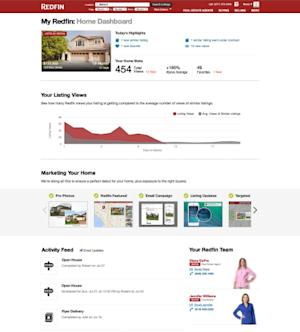 Redfin Expands Services for Home Sellers with Redfin Home Dashboard