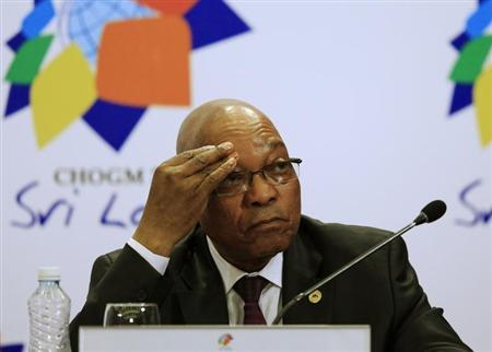'Security' swimming pool lands South Africa's Zuma in hot water