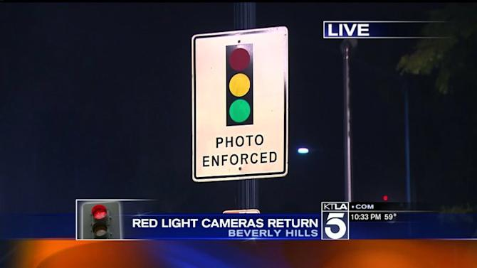 Red Light Cameras Making a Comeback in Beverly Hills