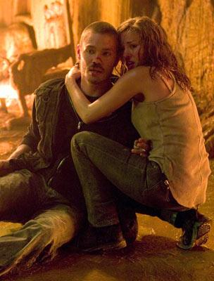 Chad Michael Murray and Elisha Cuthbert in Warner Bros. Pictures' House of Wax
