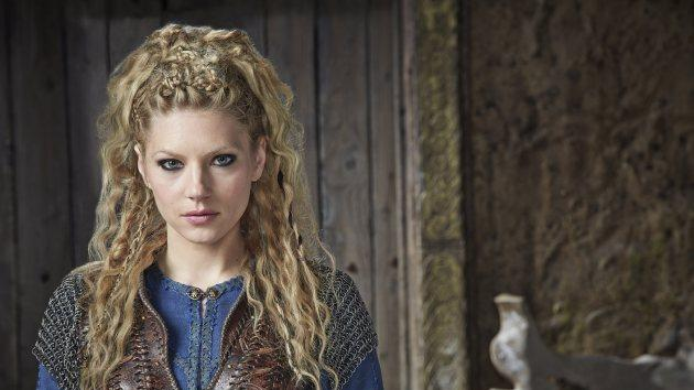 Katheryn Winnick as Lagertha in 'Vikings' Season 3 -- Jonathan Hession/HISTORY