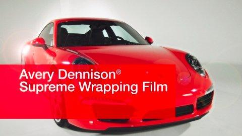 Avery Dennison Outperforms Competition in Vehicle Wrap Benchmark Study