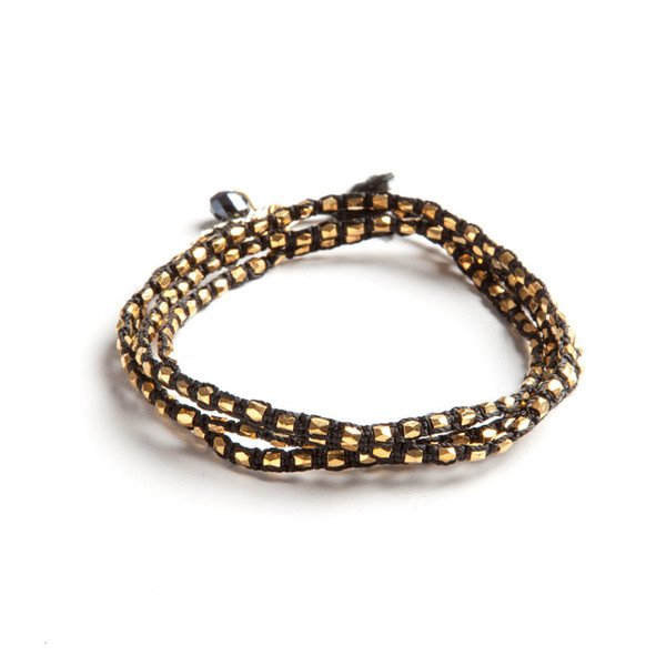 Dazzling Noir Wrap Bracelet - Maiden Guatemala