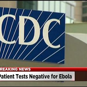 CDC: No Ebola In Sacramento Patient