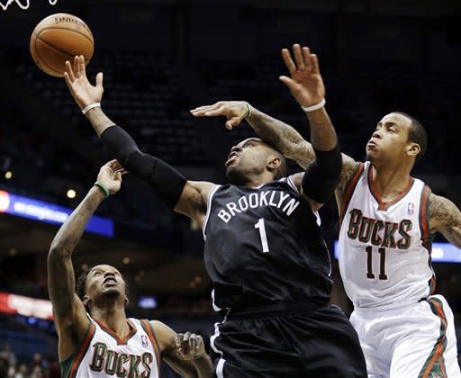 Bucks beat Nets for 13th straight time, 108-93